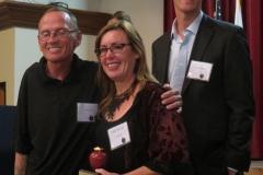 Apple2015 Ed Roberts Awardee, Kyle J with Lani and Kyle M
