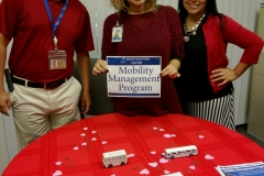 DMC Mobility Management Staff at their resource table