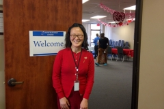 DMC Staff Wendy greeting guests