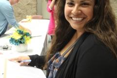 CSUF Volunteer at Registration Desk