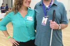 DMC Staff Brittany and David posing
