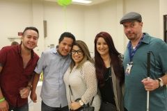 DMC Staff David and guests Chuy Mayra Kenny and another