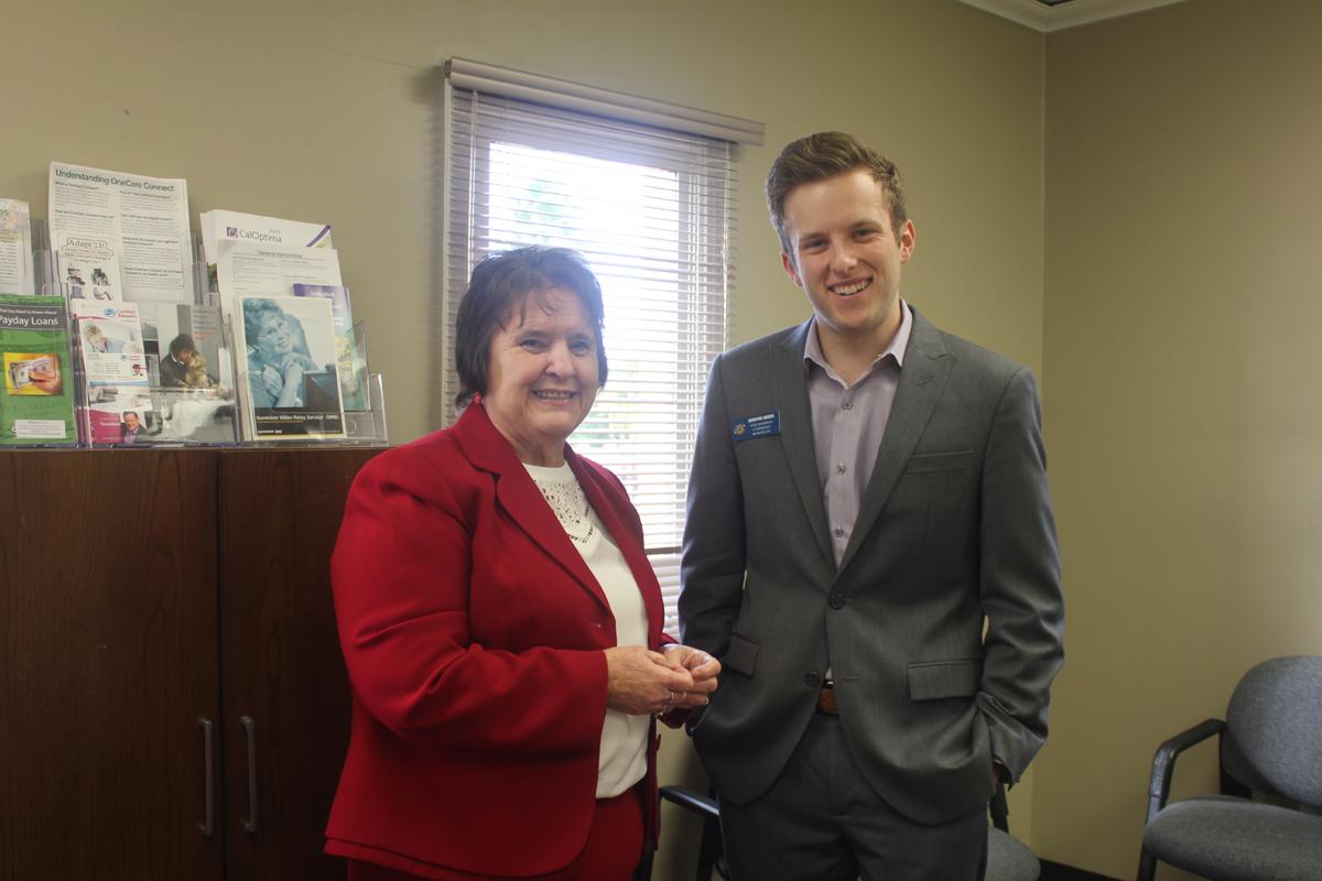 Director Margeson and Legislative aid
