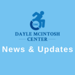 "Picture of Dayle McIntosh Logo with Text stating ""News & Updates"""