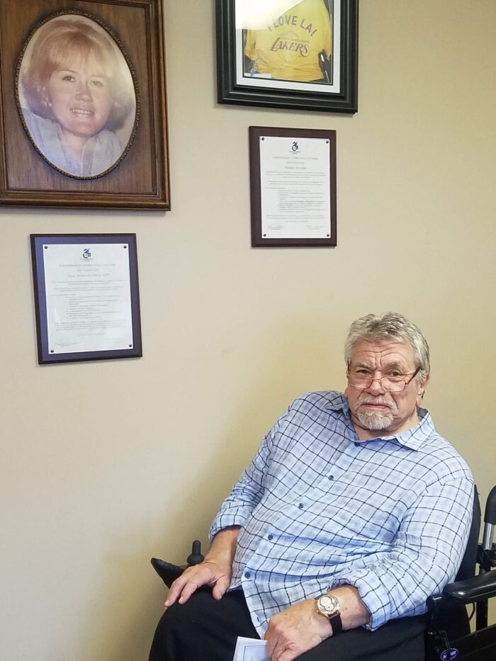 Picture of Gregory when he visited DMC Anaheim Office in August 2019.
